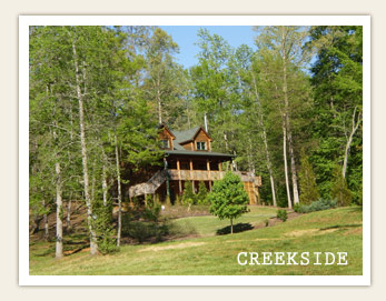 Stay at Creekside Cabin